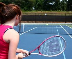 テニス_フォアハンド_イメージ